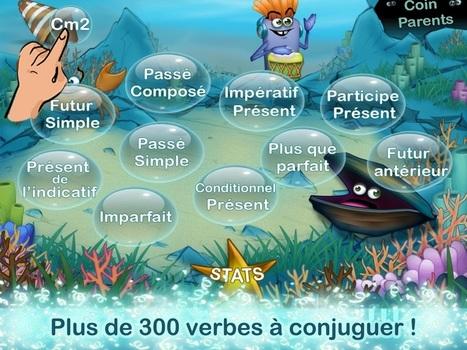 Révise ta conjugaison : pour bien apprendre les verbes - Android-MT | Remue-méninges FLE | Scoop.it