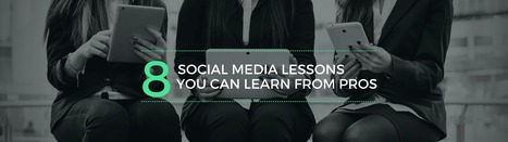 8 Social Media Lessons You Can Learn From The Pros [With Templates] | The 21st Century | Scoop.it