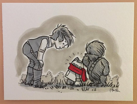 "Artist Reimagines ""Star Wars"" Cast as Beloved ""Winnie the Pooh"" Characters 