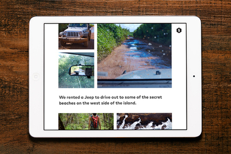 iPad App Makes It East To Create Visual Longform Stories   MobileWeb   Scoop.it