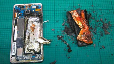 A Samsung se le incendian otros modelos de smartphones (y ya hay casos en España). Noticias de Tecnología   Educomunicacion   Scoop.it