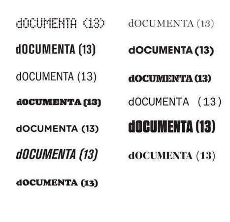 dOCUMENTA (13) non-identity | Corporate Identity | Scoop.it