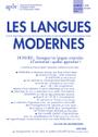 Enseigner et apprendre les langues orientales à l'université : quelles approches ? - Les Langues Modernes n°4/2015 | Innovation en langues: approches créatives et outils numériques | Scoop.it