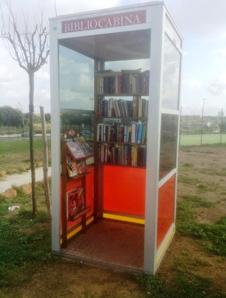 monteverdelegge: E una! La prima bibliocabina di Roma è a Torresina   Attualità e varie   Scoop.it