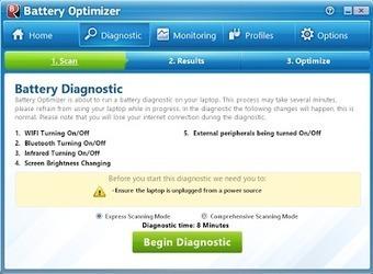 Battery Optimizer : Βελτιστοποιήστε την απόδοση της μπαταρίας στο λάπτοπ σας. - Τα καλύτερα δωρεάν προγράμματα | Δωρεάν προγράμματα, Τεχνολογία | Scoop.it