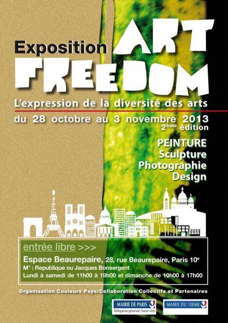 Art Freedom 2013 - Espace Beaurepaire   MUSÉO, ARTS ET SPECTACLES   Scoop.it