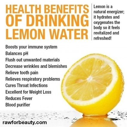 ✪What are the health benefits of lemon water ✪ | Health & Digital Tech Magazine - 2016 | Scoop.it