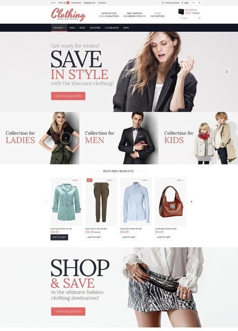 10 Modern Design Choices for E-Commerce Stores #websitedesign | MarketingHits | Scoop.it