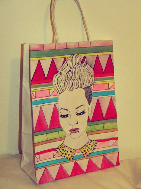 32 Beautiful Designs of Paper Bags With Brand Identity | Design | Graphic Design Junction | printing services in China | Scoop.it