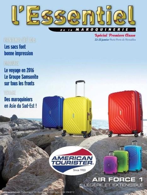 L'Essentiel de la Maroquinerie n° 69 - janvier 2016   Abonnements  CDI   Scoop.it