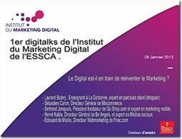 Retour sur le 1er digitalks de l'Institut de Marketing Digital | Actualités ESSCA | Scoop.it