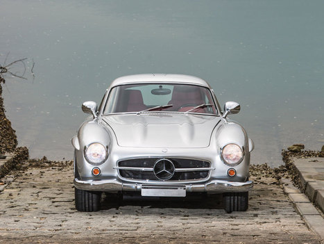 One Of Eleven AMG-Modded Mercedes-Benz 300SLs Up For Sale | Heron | Scoop.it