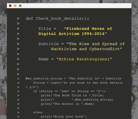 Firebrand Waves of Digital #Activism 1994-2014   Athina Karatzogianni   #hacktivism   Digital #MediaArt(s) Numérique(s)   Scoop.it