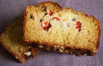 Kriket's cooking: Cake à la polenta, aux poivrons grillés et à la coppa   Salé - plats   Scoop.it