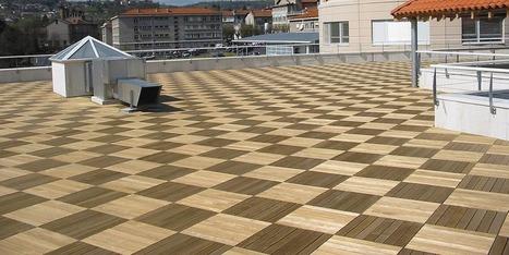 Pose terrasse en dalles sur plot   Travaux Extérieurs   Scoop.it