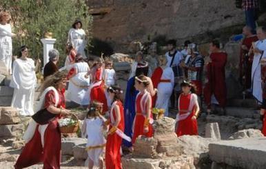Ofrenda a los dioses para pedir por el Castillo de Sagunt | LVDVS CHIRONIS 3.0 | Scoop.it