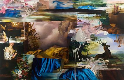 It's Nice That : Painter Simon Casson takes the collage back a few centuries   regard par la fenêtre de lestoile sur les arts   Scoop.it