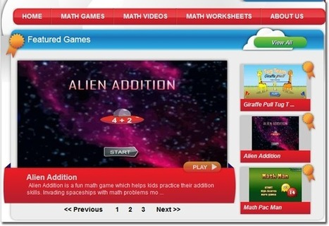 Math Game Time - One Stop Shopping for Math Tools - Teach Amazing! | 21st Century Concepts Math | Scoop.it