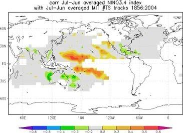 El Niño y su impacto en los ciclones tropicales | Agua | Scoop.it