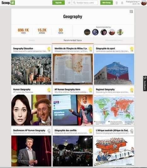 L'enseignement de la géographie bouleversé par la curation et les réseaux sociaux. | Géographie : les dernières nouvelles de la toile. | Scoop.it