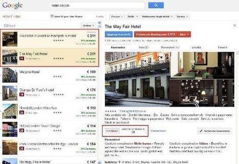 Google Hotel Finder: altro strumento di promozione hotel | Internet & Web | Scoop.it