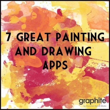 7 Great Painting and Drawing Apps | Teaching Tools Today | Scoop.it