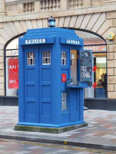 Glasgow's first zero waste micro cafe opens - in a Tardis | Glasgow news | Scoop.it