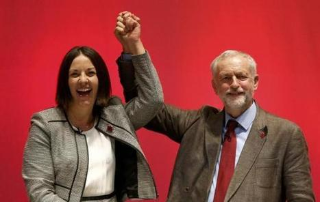 "Kezia Dugdale says Corbyn factor helping ""fighting fit"" Labour win voters back from SNP 