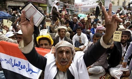 Yemen police massacre 45 protesters   Coveting Freedom   Scoop.it