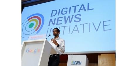 Google alloue 27 millions d'euros à 128 projets médias innovants en Europe | UseNum - Europe | Scoop.it