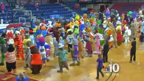 Mascot Party World Record Attempt at the Palestra | Mascots | Scoop.it