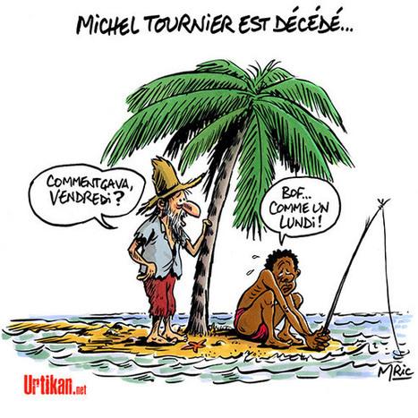 Michel Tournier : le roi des mots s'est éteint à 91 ans | Dessinateurs de presse | Scoop.it