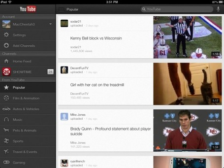 The Official YouTube App Finally Goes Universal -- AppAdvice | Panther PLN Scoops | Scoop.it
