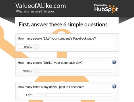 How to Calculate the Value of Your Social Media Followers [CALCULATOR] | We're in Business | Scoop.it