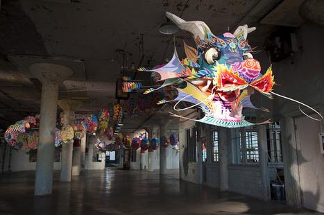 ai weiwei installs seven large-scale works on alcatraz island - designboom | architecture & design magazine | Art Installation | Scoop.it