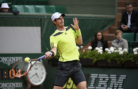 Murray comes through opening test | Roland Garros | Scoop.it