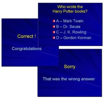 Create Multiple ChoiceQuizzes with PowerPoint | Educatief Internet - Gespot op 't Web | Scoop.it