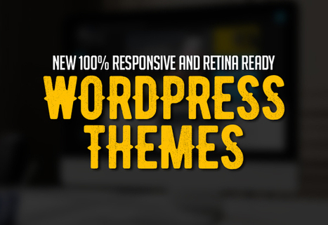 New 100% Responsive WordPress Themes | Mance Creative - Graphic and Website Design | Scoop.it