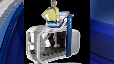 Anti-Gravity Treadmill Helps Patients, Athletes Recover From Injuries - CBS Local | Spaceflight Fitness | Scoop.it
