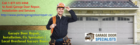 Contact Garage Door Repair, Installation and Services | Portes Garage Door | Garage Door Specialists | Scoop.it