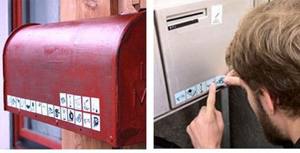 En Suisse, des stickers sur la boite aux lettres indiquent les objets que l'on veut bien prêter - Etude marché, Conseil en stratégie : Marketing, Communication entreprise, Relation client - La Post... | Innovation économique & sociale | Scoop.it