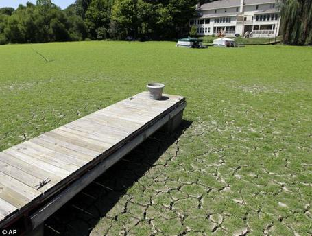 Sobering image of the #drought:  Morse Reservoir in Noblesville, IN #INwx http://yfrog.com/ob2icjxsj | Climate Chaos News | Scoop.it