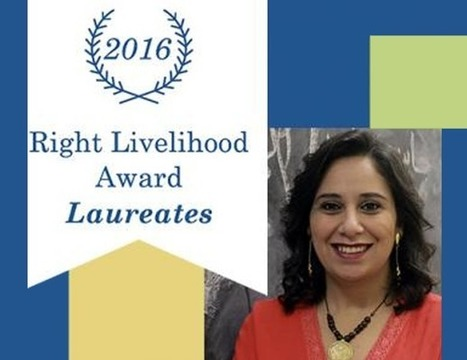 "Mozn Hassan and Nazra for Feminist Studies receive the ""Right Livelihood"" Award 