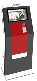 Test : les bornes d'obtention de carte SIM de FreeMobile | Autour de... Sam | Nas et réseaux | Scoop.it