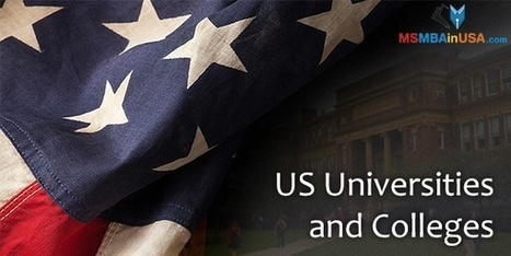 Best US Universities and Colleges | Profile Evaluation| University Search| Discussion Forum | Scoop.it