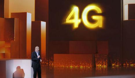 La 4G débarque en France | Free : téléphonie | Scoop.it