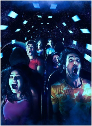 Deep Space : Dark Rollercoaster Rides - Adlabs Imagica | News world | Scoop.it