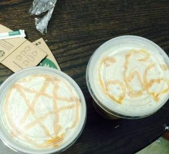 Starbucks Barista Accused Of Drawing Satanic Symbols In Coffee Foam - CBS Houston | Technology in the Hospitality Industry | Scoop.it