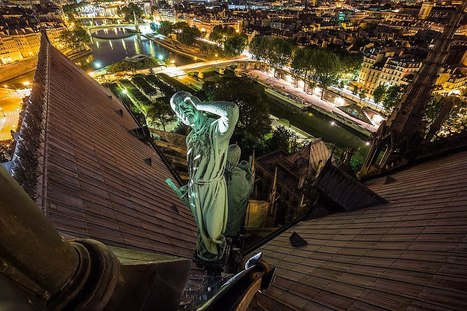 Paris vue par des roofers russes (diaporama) | Intervalles | Scoop.it