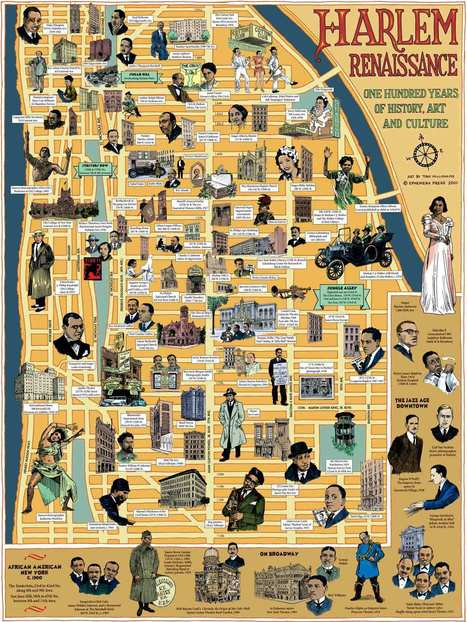 A map about Harlem | New York I Love You™ | Scoop.it